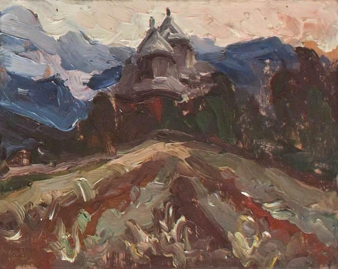Михайло Мороз. Церква, 1939 р.