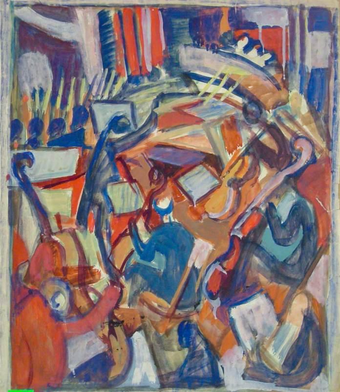 Карло Звіринський. Музиканти, 1950-ті роки