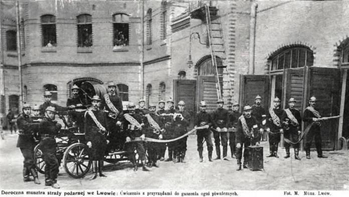 Щорічна муштра львівських пожежників