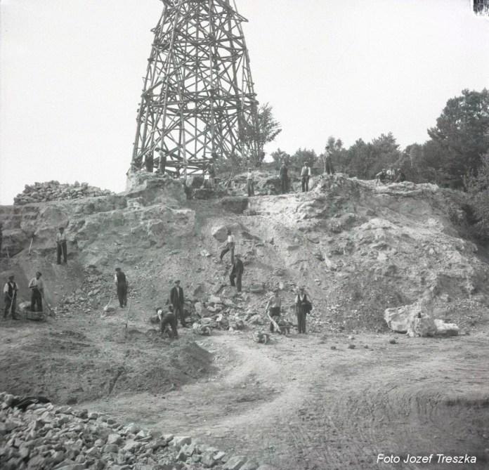 Вид каменоломні, 1937 рік. Copyright © Krzysztof Duda 2018
