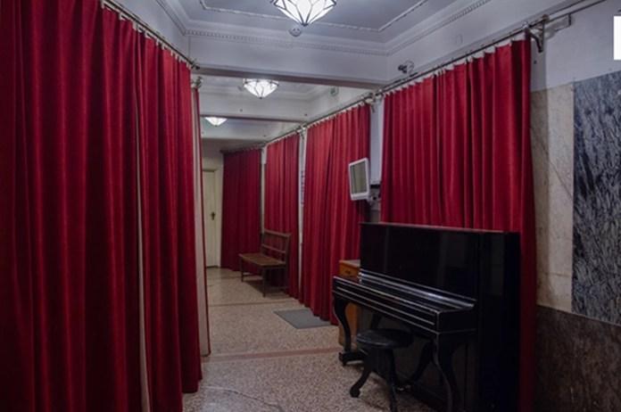 Фойє театру Леся Курбаса. 2020 рік 