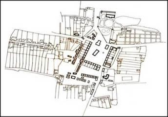 Бурштина на мапі в кадастрі ХІХ століття