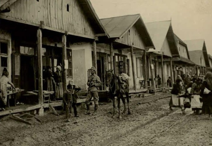 Село Варяж, Львівська обл., 1914-1918 рр.