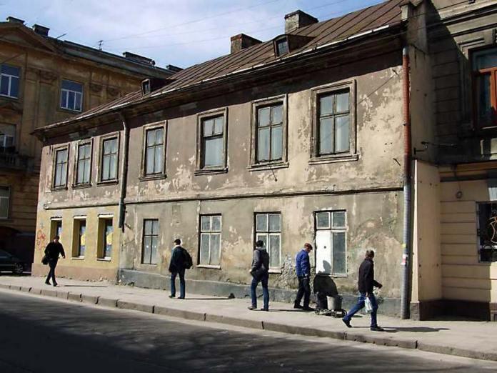 Львів, вул. Шота Руставелі, 12 станом на 2013 рік (pslava.info)