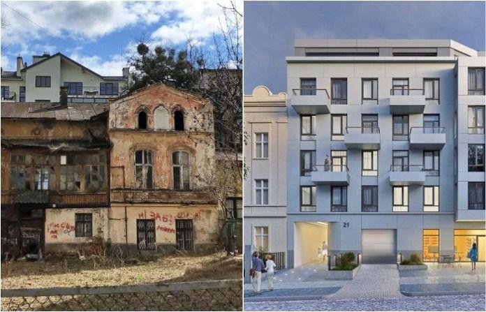 Знакові реконструкції будинків у Львові