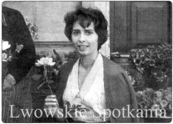 Катерина Дідушицька. Фото 1956 року (www.lwow.home.pl)