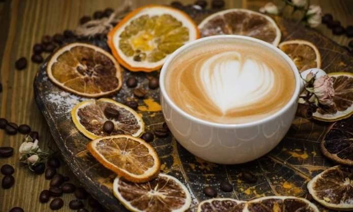 Кава з цитриною