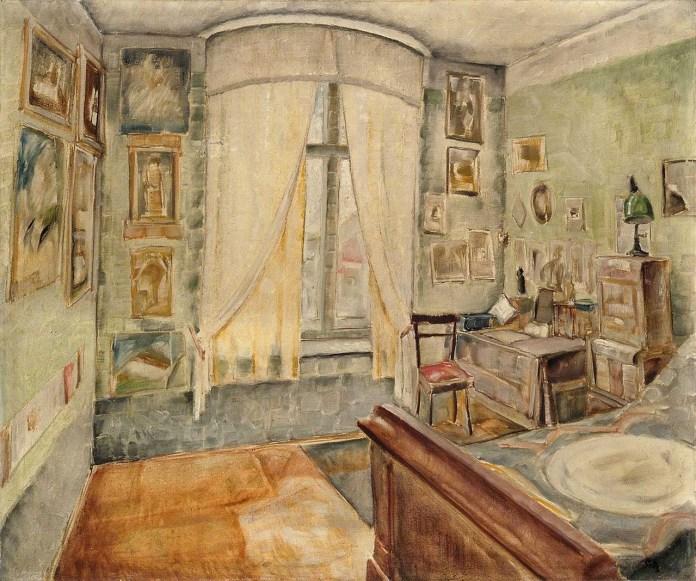 """Лев Ґец. """"Моя кімната"""". 1939 рік"""