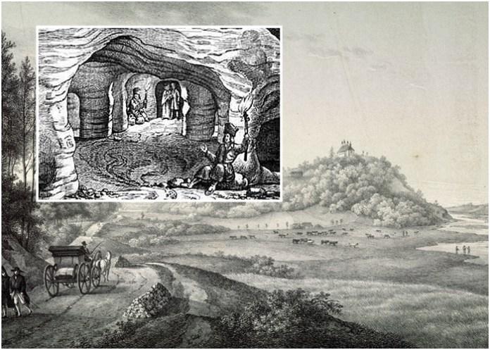 Лєґенда про печери у Страдчі