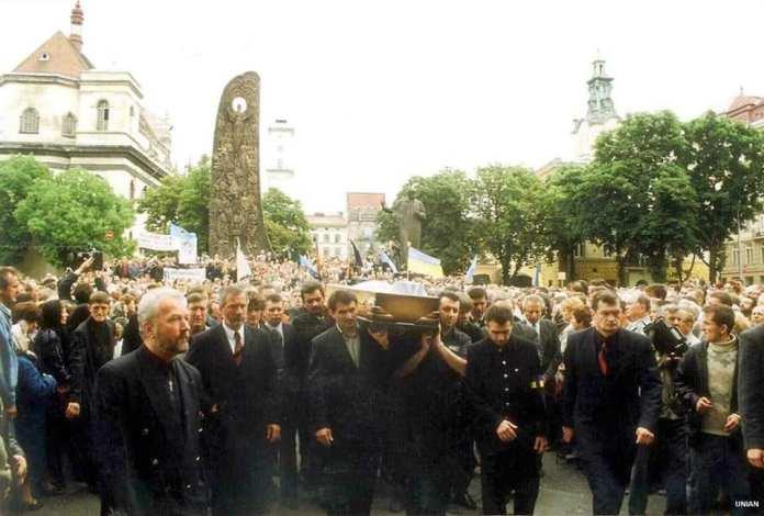 Похорон Ігоря Білозіра. Фото: facebook-сторінка Олег Вишняков