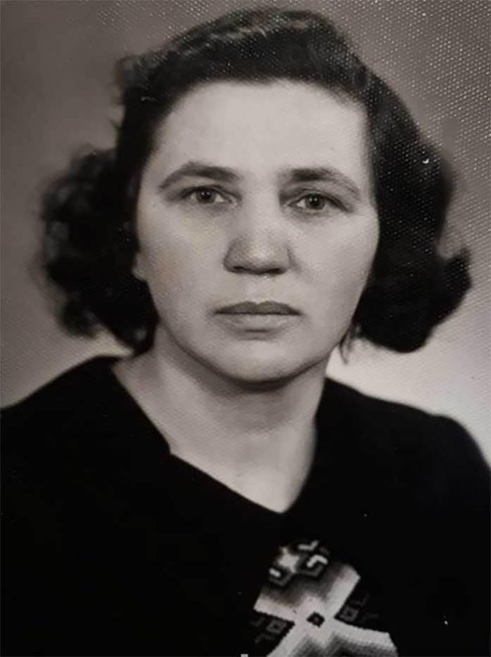 Ганна Гром (фото із фондів музею І. Франка в Нагуєвичах)