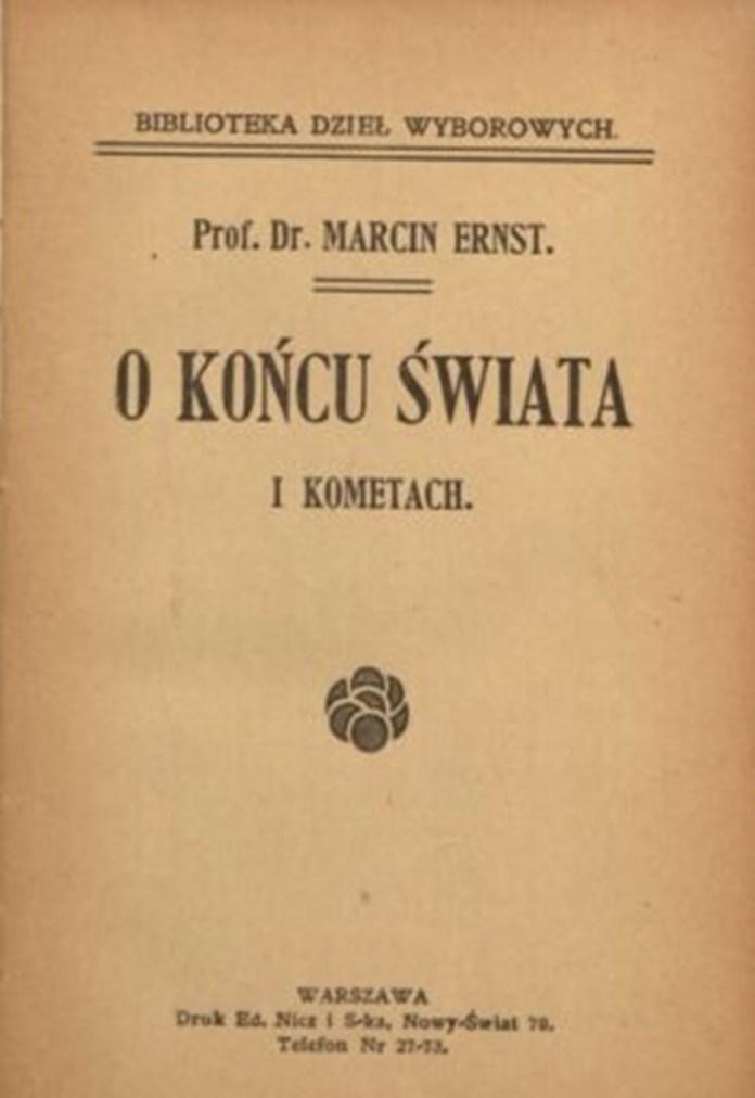 """""""Про кінець світу і комети: з приводу передбаченого кінця світу на 1899 рік"""""""