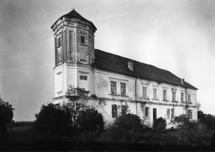 Замок у Мурованому, 1914 р.