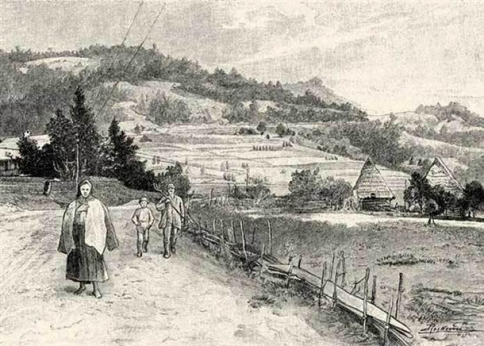 Ігнатій Рошкович. Ужоцький перевал (1900 рік)
