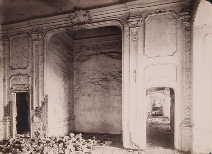 Замок в Жовкві. Фото Едварда Тшемеського, ХІХ ст.