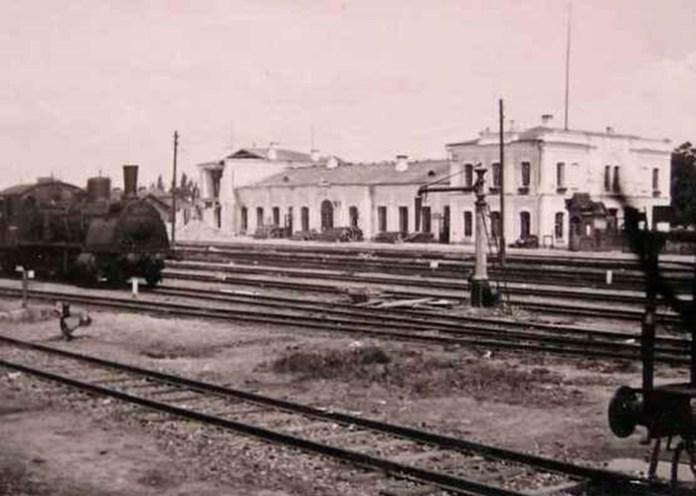 """Станція """"Рівне"""", червень 1941 рік"""