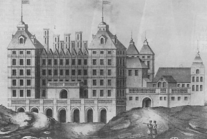 Палац Казановських у Варшаві. Фото з https://pl.wikipedia.org/
