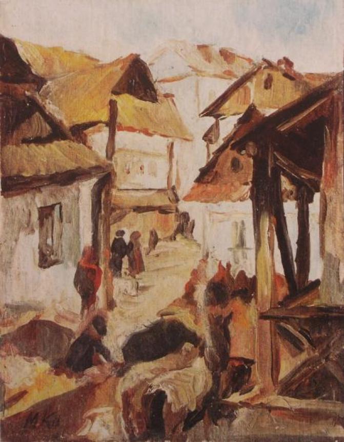Мартин Кітц. Містечко. Фото з https://uk.wikipedia.org/