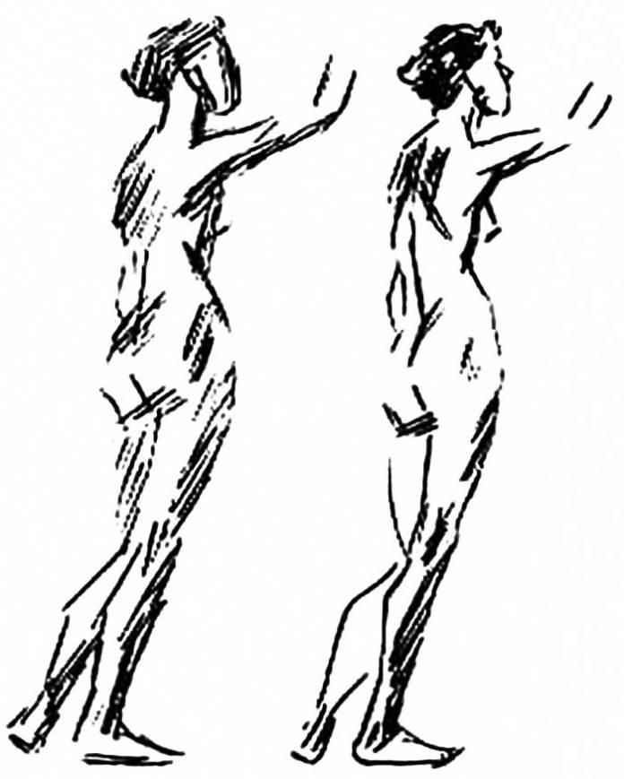 Побудова фігури за Ашбе