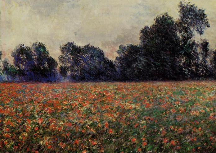 Клод Моне. Poppies at Giverny. Приватна збірка