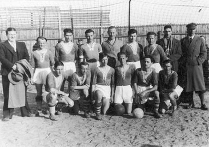 """Футбольний клуб """"Спарта"""" 1936 рік"""