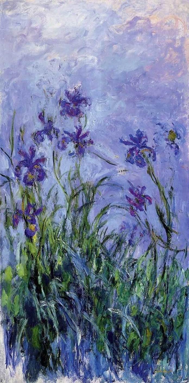 Клод Моне. Lilac Irises