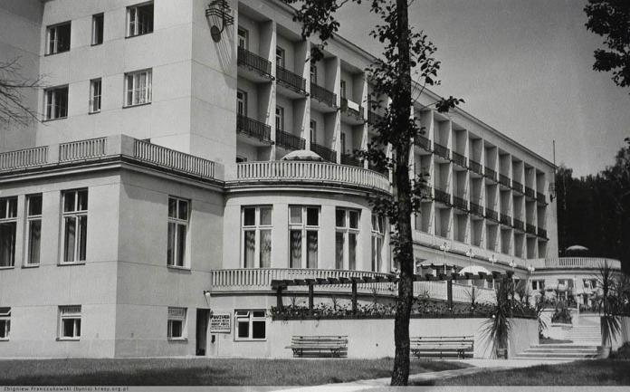 Моршин. Санаторій. 1938 p.