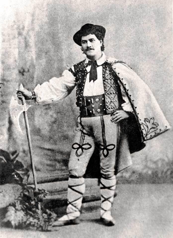 Олександр Мишуга в образі Йонтека. Опера « Галька» Станіслава Монюшка