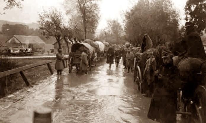 Дорога в селі, Галичина
