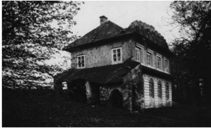 """""""Філософський"""" будиночок у млинівській резиденції Ходкевича"""