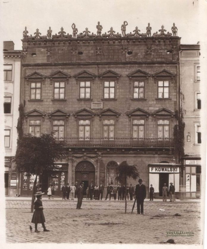 Палац Корнякта у Львові, міжвоєнний період. Нині там Львівський історичний музей