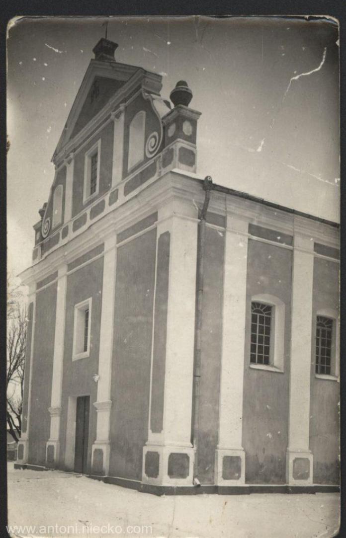 Родинний костел Ходкевичів у Млинові, міжвоєнний період