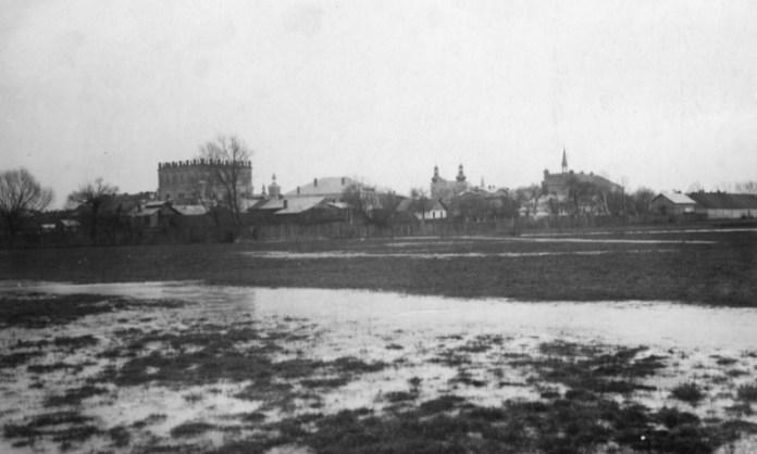 Панорама міста Белз, 1920-30-ті рр.