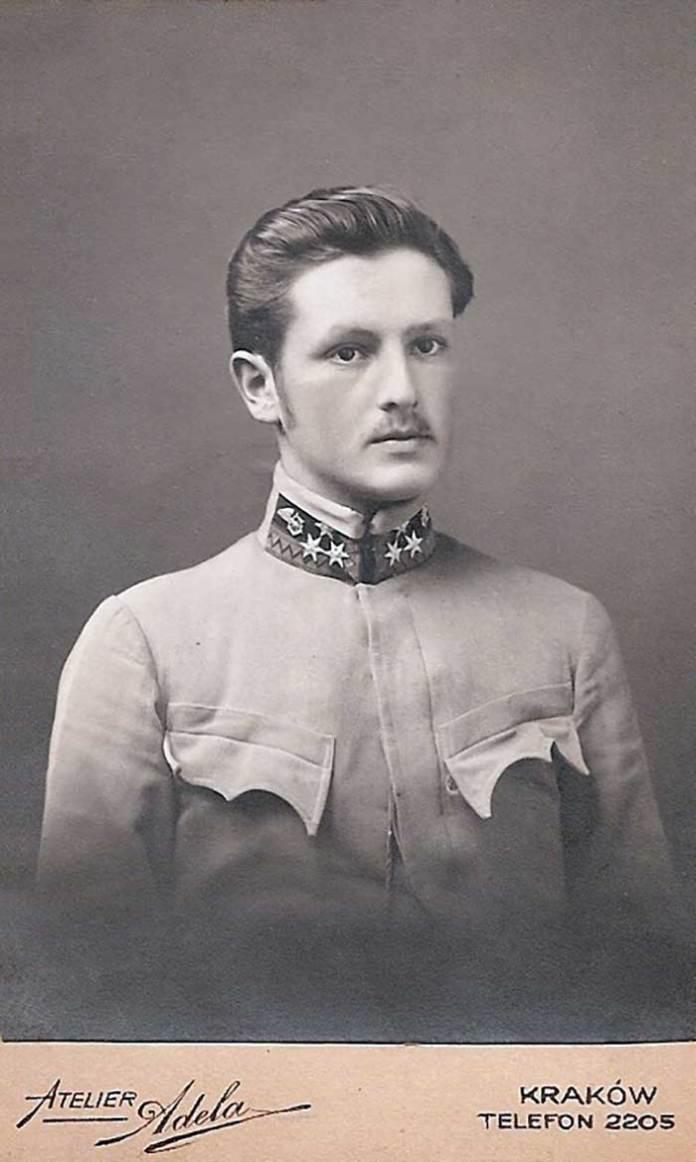 Олександер Пежанський. Роки першої світової війни