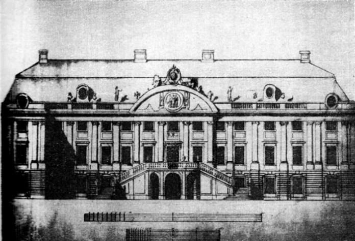 Ополє, палац Олександра Любомирського, 1780 рік