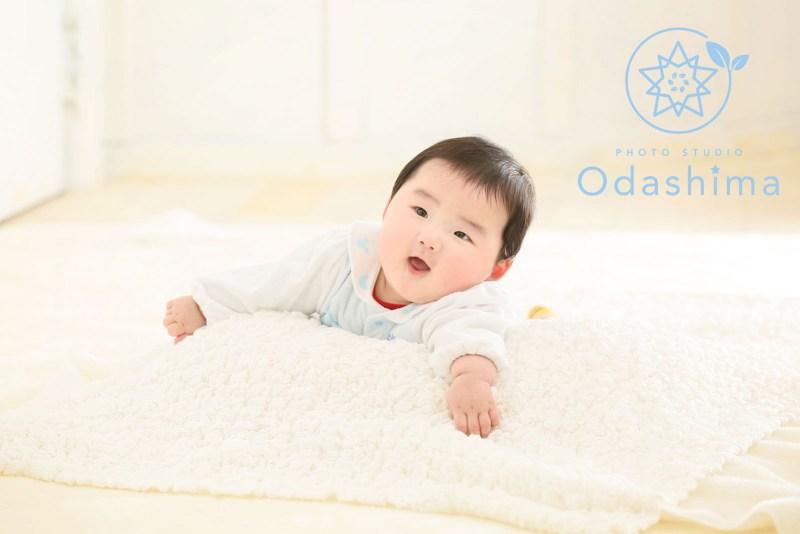 お宮参り赤ちゃん