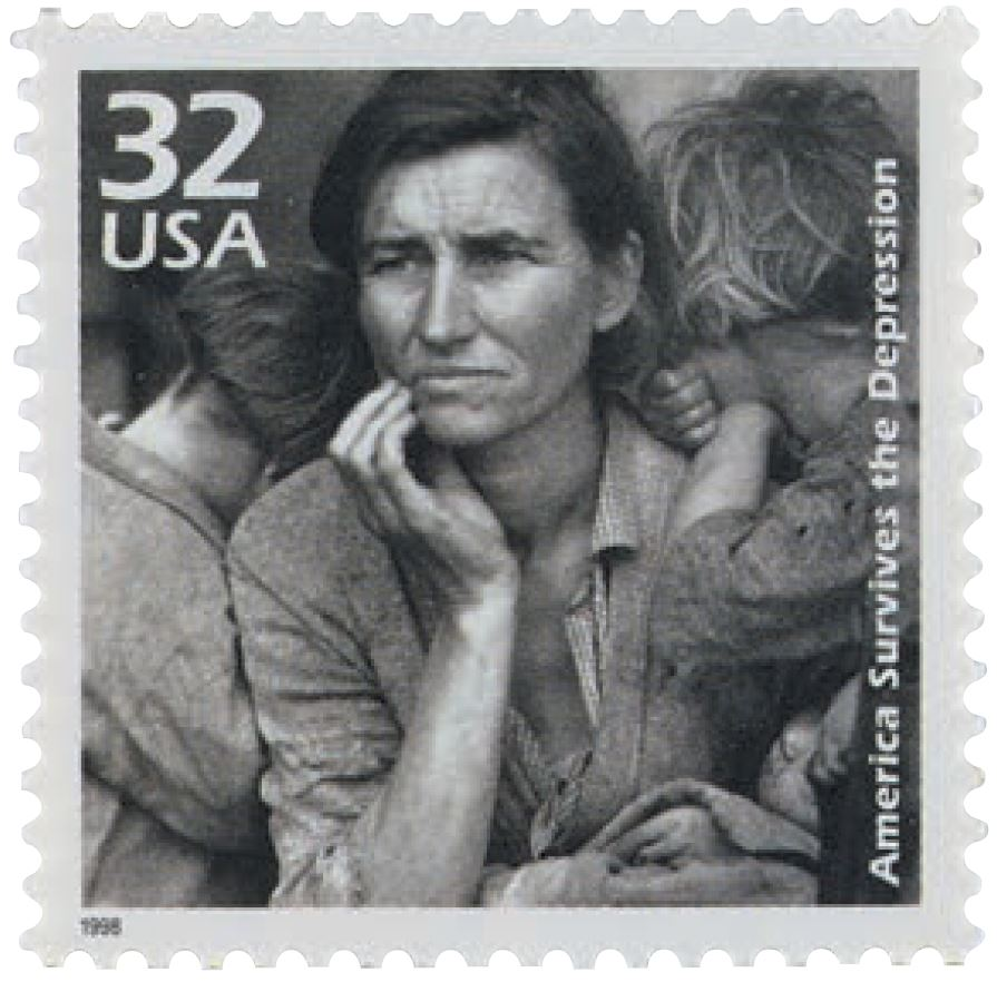 migrant mother stamp