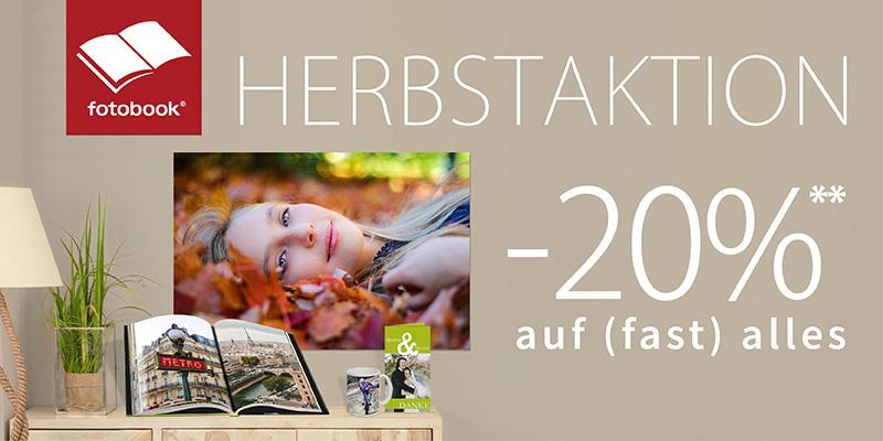Herbstaktion bei Fotobook