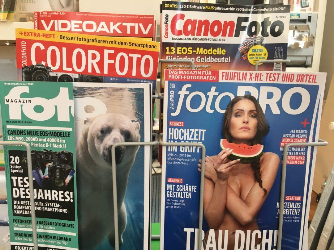 , Aktuelle Fotomagazine