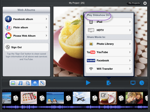 different ways for viewing photos on ipad