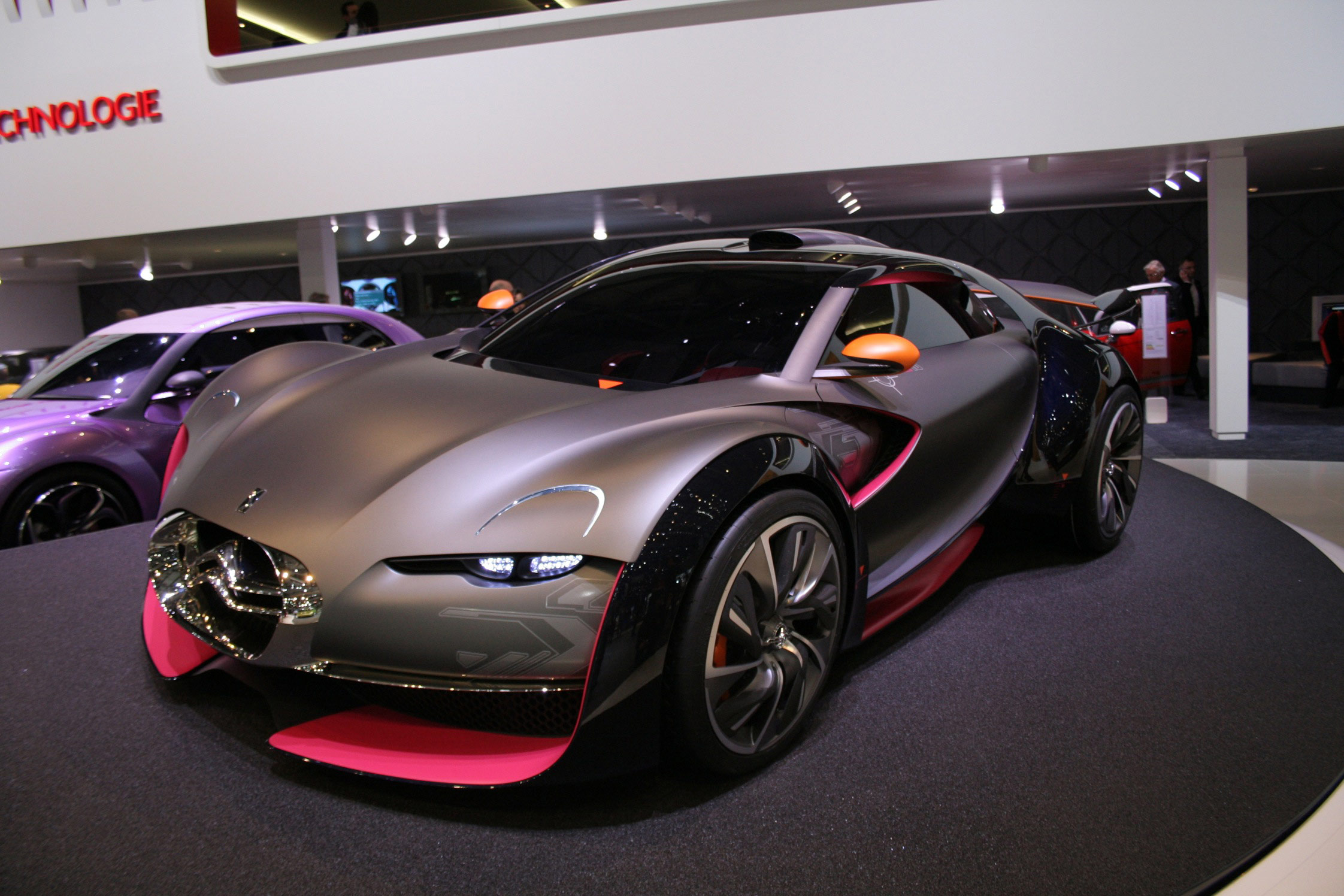 Photo Citroen Survolt Concept Conceptcar 2010