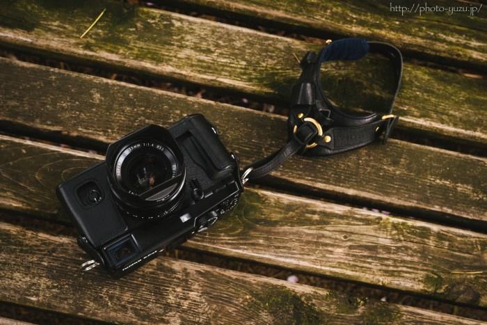 FUJIFILM X-Pro2にカメラケースBLC-XPRO2を装着