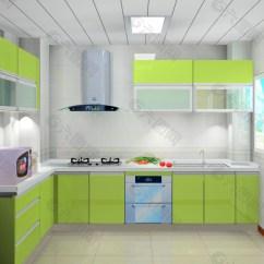 Green Kitchen Decor Handicap Accessible Kitchens 绿色厨房装饰装修素材免费下载 图片编号 801270 六图网 绿色厨房