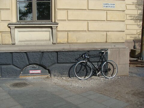 bicycle atHelsinki