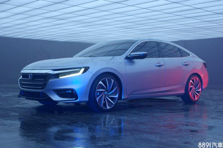 2018北美車展 新一代本田Insight原型登場 明年夏季上市 - 8891新車