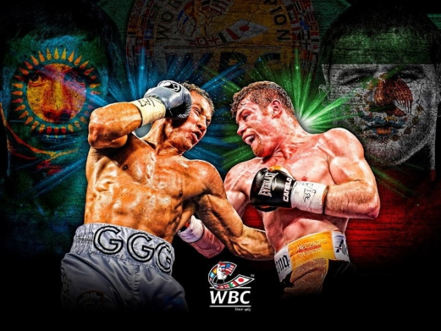 Image result for golovkin vs canelo