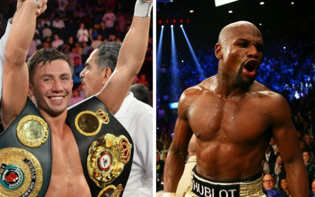 Image result for Move up weight to prove your worth – Mayweather tells Golovkin