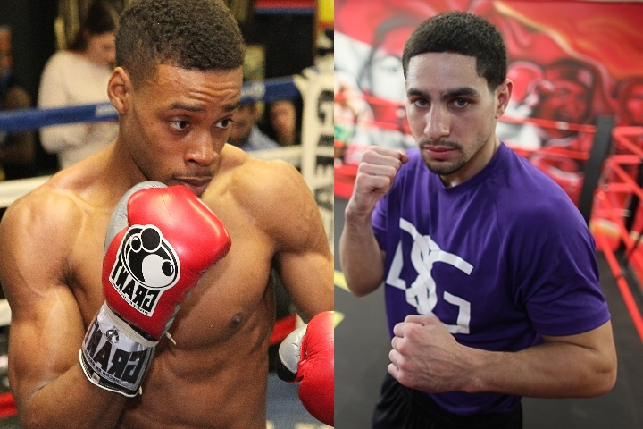 Image result for danny garcia ducking errol spence