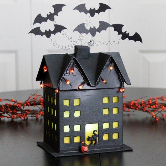 Cardboard Haunted House Ideas House Ideas