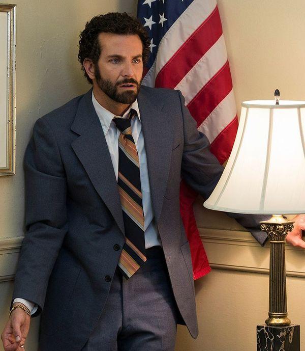Bradley Cooper Makes Face, Wears Gold  Cultjer